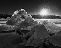 ICE in Black & White