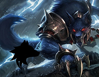 WARWICK - LOGIN SCREEN (FAN MANDE) (LEAGUE OF LEGENDS