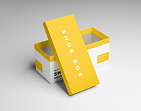 20+ Outstanding Shoe Box PSD Mockup Templates