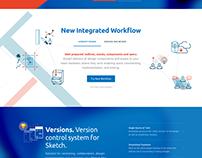 Sympli Home Page Facelift