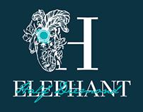 Half Diemond Elephant