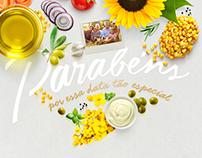 E-mail Marketing Aniversário Azeite Salada