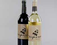 Shipwreck Wine: Labels, Carrier and Bottle Wrap.