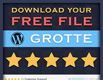 Grotte - A Dedicated FREE WordPress Theme