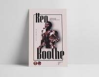 Afiche conmemorativo - Ken Boothe en Chile