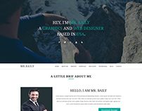 Baily - Responsive Resume Template