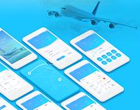 Flight App Concept + UI Kit