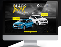 Website Black Week Renault Granvel