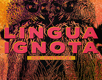 A Poster for Lingua Ignota live in Berlin 2019