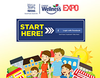Nestle Choose Wellness Expo Online Application Flow