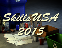 SkillsUSA NC 2015 3D Animation Entry (1st Place)