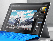 Free Surface Pro 3d Model