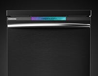 Samsung Pure edge Dishwasher Concept