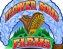 Flower Bomb Farms Logo
