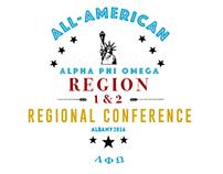 Alpha Phi Omega - Regional Conference | Logo