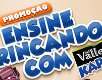 Promoção ENSINE BRINCANDO COM KAPO