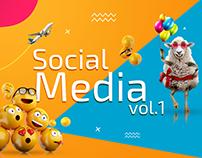 Social Media posts vol.1