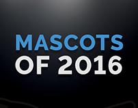 Mascot logos of 2016