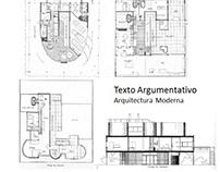 CF_Arquitectura Moderna_Texto Argumentativo_201620