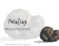 Painting Mushrooms