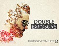 Double Exposure Photoshop Template