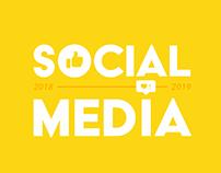 SOCIAL MEDIA | 2018 a 2019