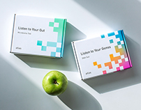 Packaging design for Atlas Biomed