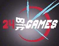 24 Bit Games Title [animation]