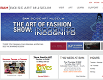 Boise Art Museum Website