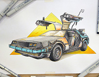 Back To The Future, DeLorean Monster