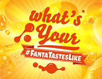 What's Your Fanta Taste Like - Motion Graphics