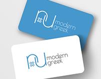 Nu Modern Greek Branding