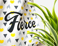 Fierce Women - Visual Identity & Card Game