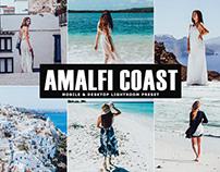 Free Amalfi Coast Mobile & Desktop Lightroom Preset