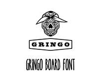 Gringo Board Font