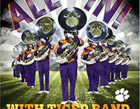 Tiger Band CD Cover Art