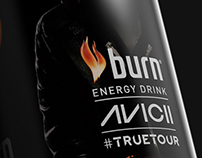 AVICII #truetour Branding