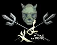 Masked Avengers figure