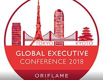 Logo animation for Oriflame