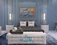 Master neo classic bedroom