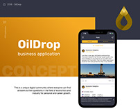 OilDrop: a social network for oilmen and businessmen