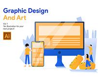 Graphic Design and Art