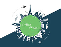 Travel Diaries | UI/UX Design | Web Application