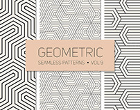 Geometric Seamless Patterns by Curly Pat LIMITED FREE