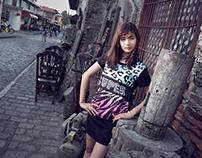 Vigan fashion shoot