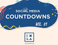 Social Media Countdowns Volume 1