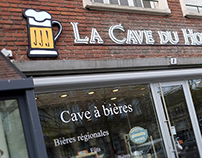 La Cave du Houblon - Logo et enseigne