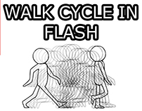 Learn How to Animate a Walk Cycle in Flash/Animate CC
