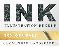 Ink Illustration Bundle Sale