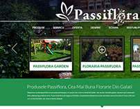 Passiflora.ro - online presentation website